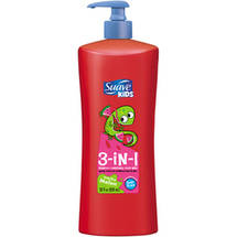 Suave Kids Wacky Melon 3-in-1 Shampoo + Conditioner + Body Wash