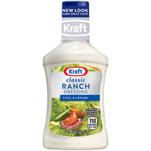 Kraft Salad Dressing: Ranch Dressing & Dip 8 Fl Oz