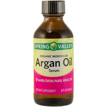 Spring Valley Organic Moroccan Argan Oil Serum Dietary Supplement