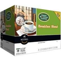 Keurig Green Mountain Coffee Breakfast Blend Coffee K-Cups