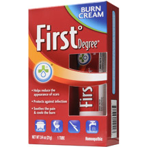 First Degree Burn Cream