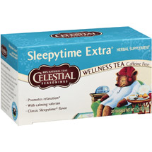 Celestial Seasonings Sleepytime Extra Herbal Supplement Wellness Tea Bags