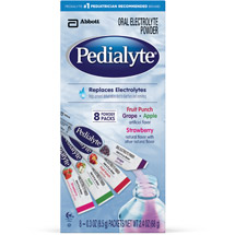 Pedialyte Fruit Punch/Grape/Apple/Strawberry Oral Electrolyte Powder
