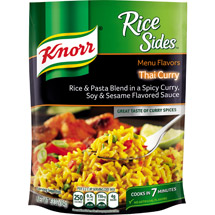Knorr Menu Flavors Thai Curry Rice Sides