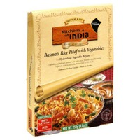 Kitchens of India Basmati Rice Pilaf with Vegetables, Vegetarian