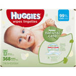 Huggies Natural Care Baby Wipes Refills