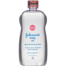 Johnson's Shea & Cocoa Butter Baby Oil