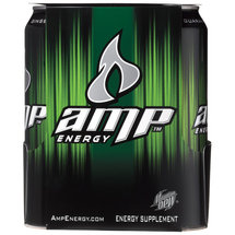 AMP Energy Drink 4 Ct/64 Fl Oz