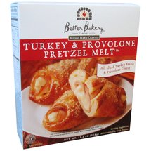 Better Bakery Turkey & Provolone Pretzel Melt