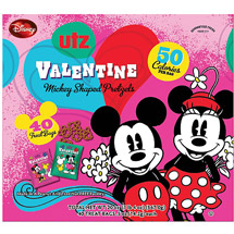 Utz Valentine Mickey Shaped Pretzels