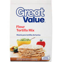 Great Value Flour Tortilla Mix