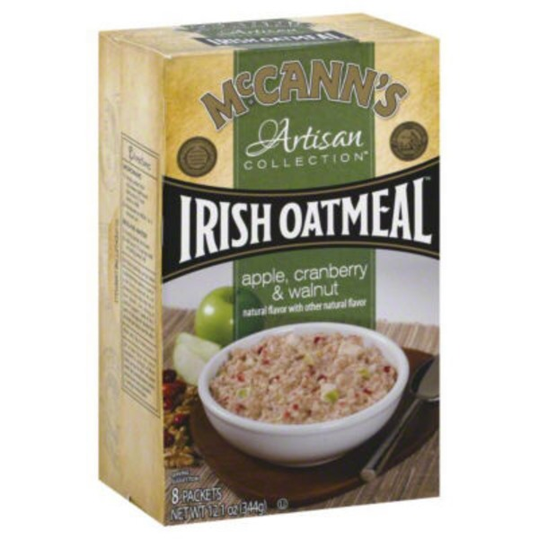 McCann's Apple, Cranberry & Walnuts Irish Oatmeal