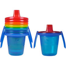 The First Years Take & Toss Plus Spill Proof 7 Ounce Cups