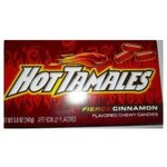 Hot Tamales Cinnamon Flavored Candy