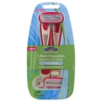 Hill Country Fare 5 Blade Disposable Razors