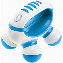 HoMedics Therapy Handheld Personal Mini Massager Blue
