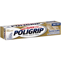 Super Poligrip Extra Care Denture Adhesive Cream