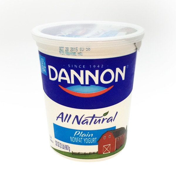 Dannon Plain Nonfat Yogurt
