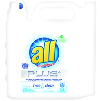 All Free N Clear Laundry Detergent with Whitening Power