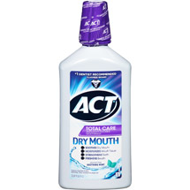 ACT Total Care Dry Mouth Mouthwash Soothing Mint
