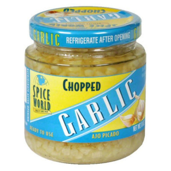 Spice World Chopped Garlic California Grown