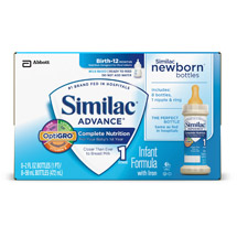 Similac Advance Earlyshield Infant Formula With Iron Ready To Feed Bottles