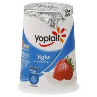 Yoplait Light Strawberry Fat Free Yogurt