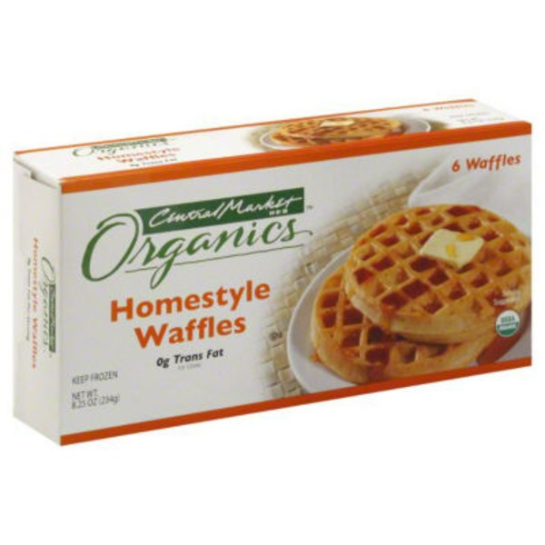 Central Market Organics. Home Style Waffles