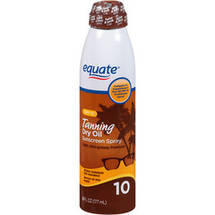 Equate Dry Oil Sunscreen Continuous Spray SPF 10