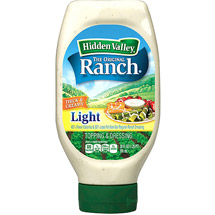 Hidden Valley Light The Original Ranch Salad Dressing 20 Fl Oz