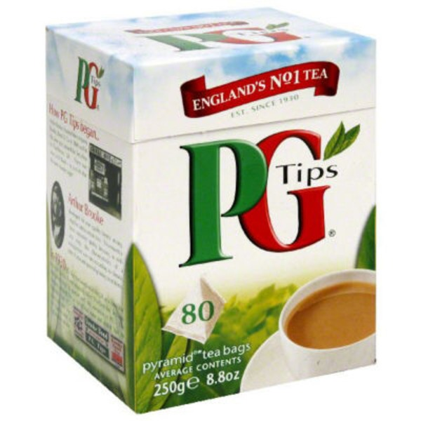 PG Tips Premiun Black Tea Pyramid Bags
