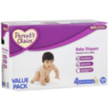 Parents Choice Diaper Value Box Size 4