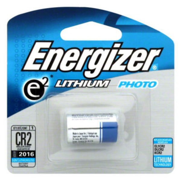 Energizer E2 Lithium Photo Battery