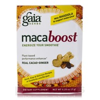 Gaia Herbs Real Cacao Ginger Maca Boost Powder
