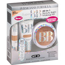 Physicians Formula Super BB All-in-1 Beauty Balm Makeup Kit 6201 Light/Medium