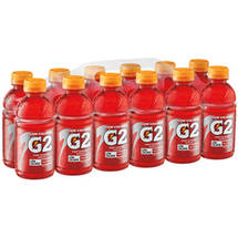 Gatorade G2 Low Calorie Electrolyte Fruit Punch Sports Drink 12 Ct/144 Fl Oz