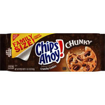 Nabisco Chips Ahoy! Chunky Crunchy Cookies