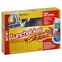 Oscar Mayer Lunchables Mini Hot Dogs with Capri Sun