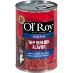 Ol Roy Heartly Loaf Top Sirloin Canned Dog Food