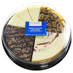 The Bakery At Walmart Strawberry Swirl/Turtle Pecan/Triple Chocolate/New York Cheesecake Sampler