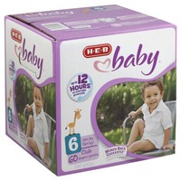 H-E-B Diapers Size 6