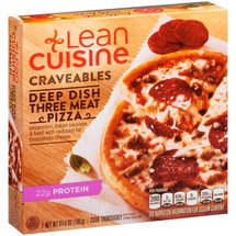 Lean Cuisine Craveables Deep Dish Three Meat Pizza