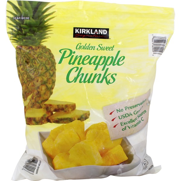 Kirkland Signature Pineapple Chunks
