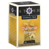Stash Tea Chamomile Caffeine Free Herbal Tea Bags