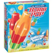 Blue Bunny Hawaiian Punch The Original Bomb Pop