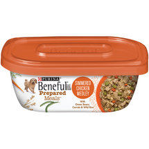 Beneful Wet Prepared Meals Simmered Chicken Medley Dog Food