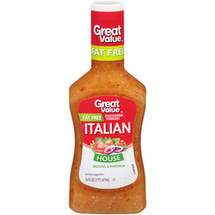 Great Value Fat Free Italian Dressing