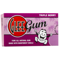 Glee Gum Triple Berry Chewing Gum