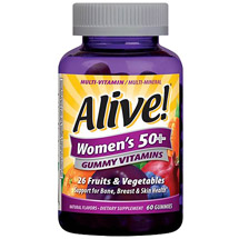 Alive! Women's 50+ Gummy Vitamins