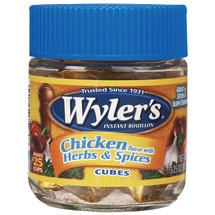Wyler's Chicken With Herbs & Spices Bouillon Cubes